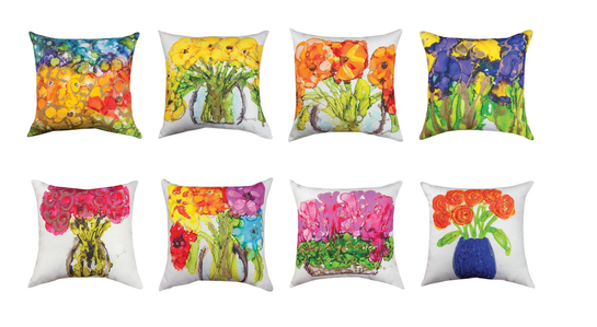 Lovitude Pillows by Anne Pryor Soul Painter