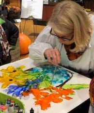 Anne Pryor will demonstrate Lovitude Soul Painting