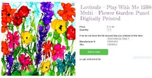 Lovitude Quilt Fabrics by Anne Pryor